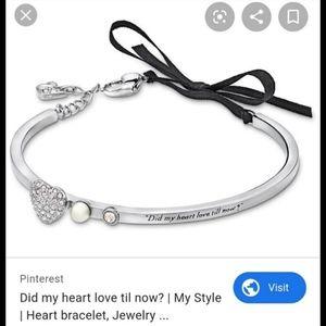 Swarovski bracelet did my heart love till now